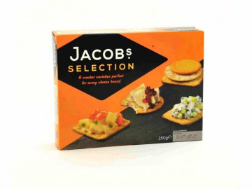 Jacob's Biscuits Selection for Cheese (250g)