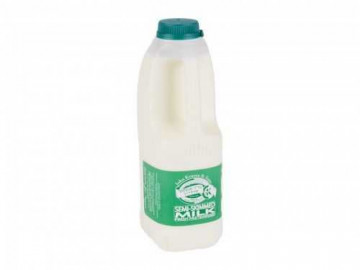 Kosher Semi-Skimmed Milk - Poly Bottle (1 Litre)