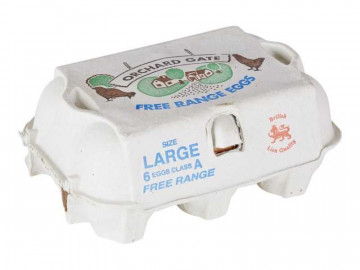 Large Free Range Eggs (x 6)