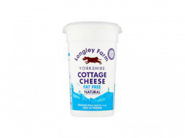 Longley Farm Fat Free Cottage Cheese (250g)