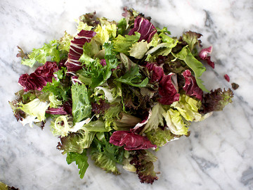 Mixed salad leaves (100g pack)
