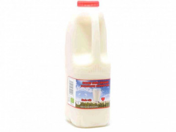 Organic Skimmed Milk - Poly Bottle (1 Litre)
