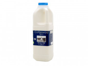 Organic Whole Milk - Poly Bottle (1 Litre)