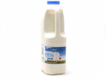 Organic Whole Milk - Poly Bottle (1 Litre)