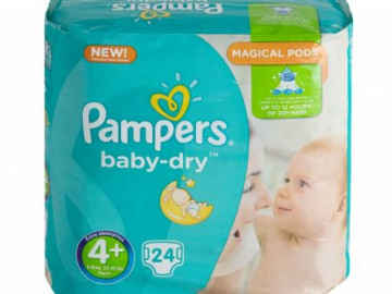 Pampers Baby Dry Nappies Size 4 (x 20)