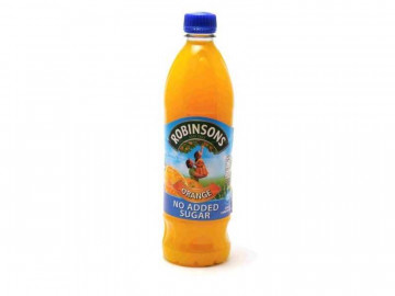 "Robinsons ""No Added Sugar"" Orange Squash (900ml)"