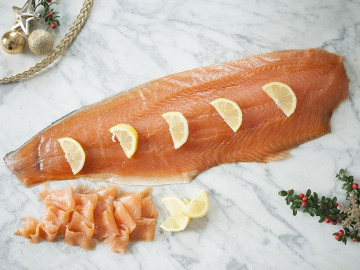 Smoked Salmon Side (1kg)