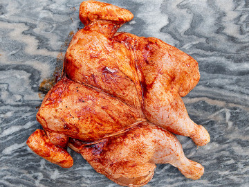 Spatchcock Chicken (Large) BBQ Seasoning 1.8kg