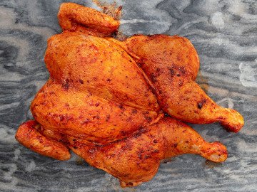 Spatchcock Chicken (Large) Piri Seasoning 1.8kg