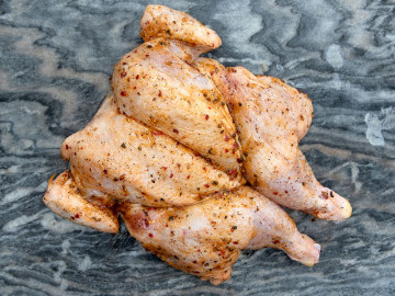 Spatchcock Chicken (Large) Salt & Pepper Seasoning 1.8kg