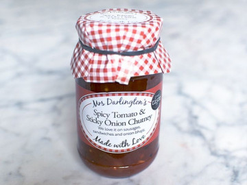 Mrs Darlington's Spicy Tomato & Sticky Onion Chutney (312g)