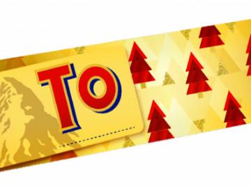 Toblerone Christmas Bar (360g)