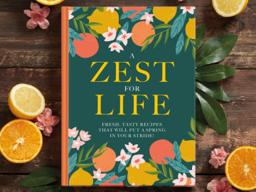 Zest for Life! Cookbook