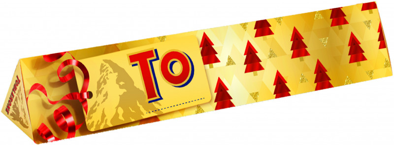Toblerone Christmas Bar (360g)