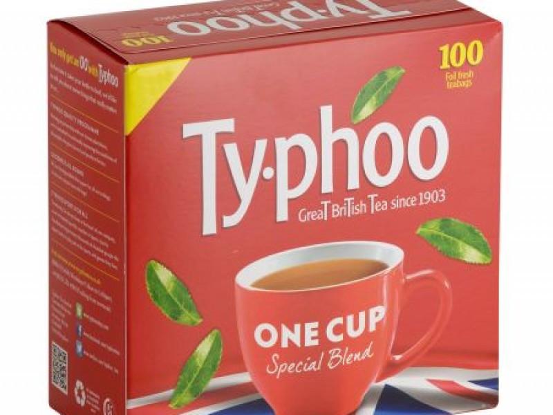 "Typhoo Tea Bags  ""One Cup"" - 100"