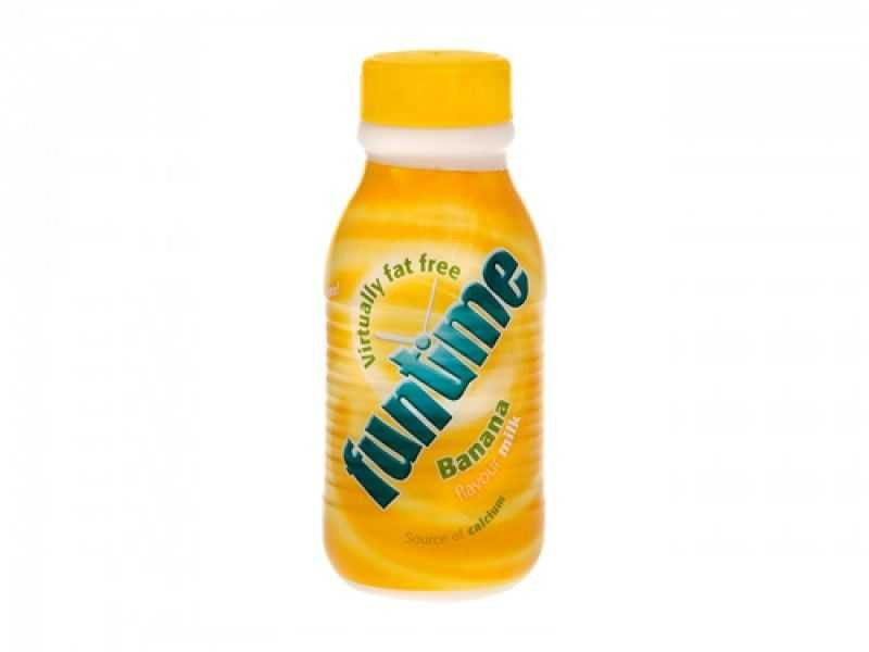 Funtime Banana Flavoured Milk (UHT 480ml)