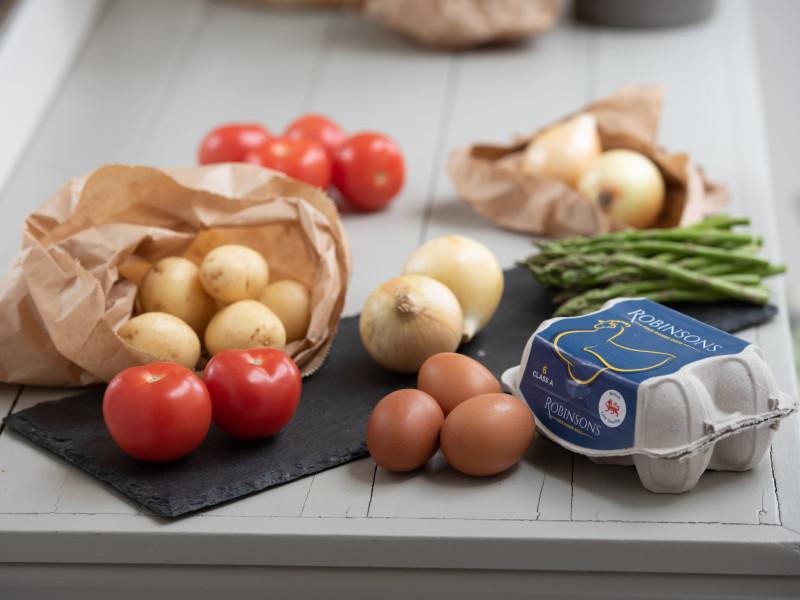 Veggie Spanish Omelette for Four